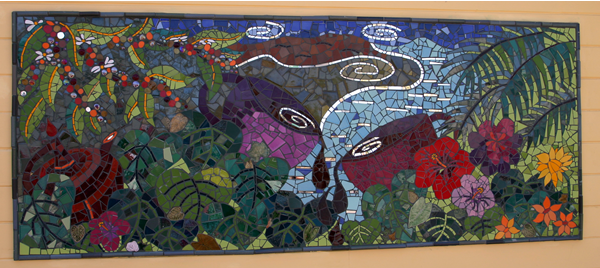 Mosaic mural intensive ta da what are you waiting for for Mural mosaic