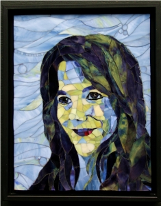 Mosaic Portrait by Pamela Goode